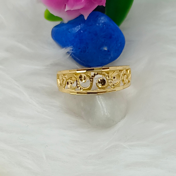 916 GOLD FANCY CASTING LADIES RING by Ranka Jewellers