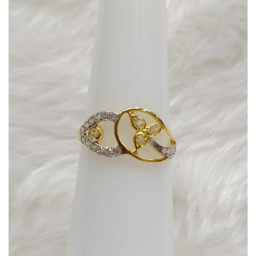 916 Gold CZ Casting Ring