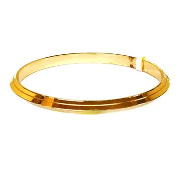 One gram gold plated punjabi kada bracelet mga - bre0094