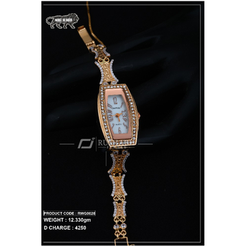 18 Carat Gold Ladies rose gold watch rwg0028