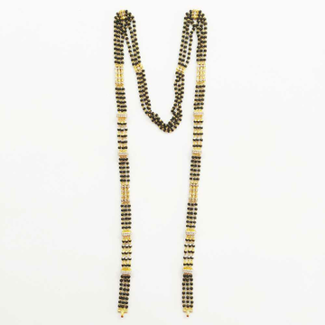 22k Gold Triple Line Designer MS DVJ-025 by Deepvimal Jewellers