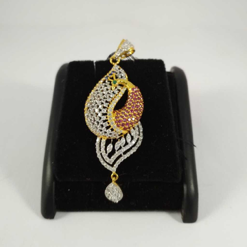 22 K Gold Diamond Pendant NJ-P096