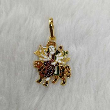 Ma ambe gold pendant