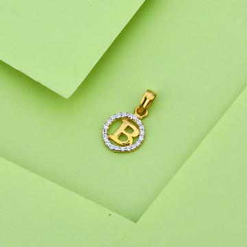 916 Gold Stylish Fancy Pendant LP24