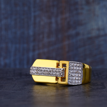 Mens 22K Gold Fancy Ring-MR359