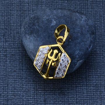 22ct Exclusive Gold Stylish Pendant GP88