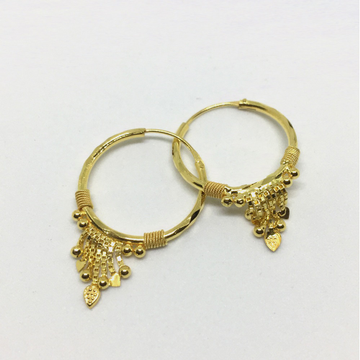 Fancy Gold Kan Ki Kadi Bali For Women