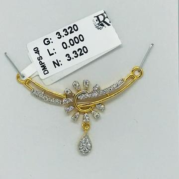916 cz Mangalsutra Pendant RBO DMPS40
