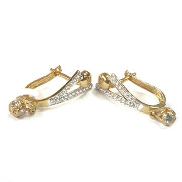 18K Gold Earrings MGA - GB008