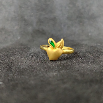 916 Fancy bacha Gold Ring-24501