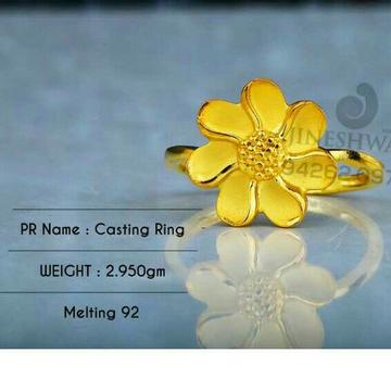 Designer Plain Casting Ladies Ring LRG -0514