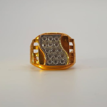 22 ct gold gents ruing