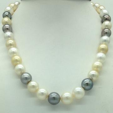 Muliticolour Round South Sea Pearls Strand JPM0397