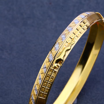 916 Gold Designer Kada Bracelet MPLKB21