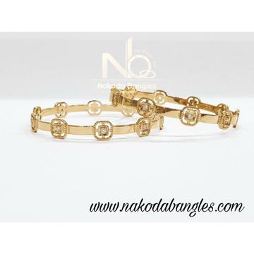 916 Gold CNC Bangles NB - 991
