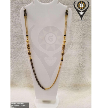 916 gold Unique Mangalsutra  by Parshwa Jewellers