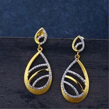 Ladies 22K Gold Jummar Earrings Modern-LJE73