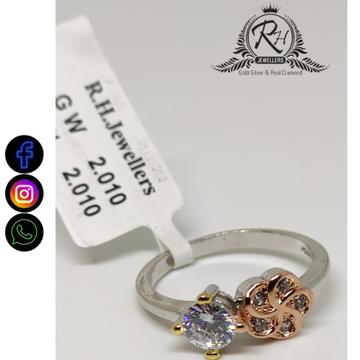 92.5 silver classical ladies rings RH-LR779