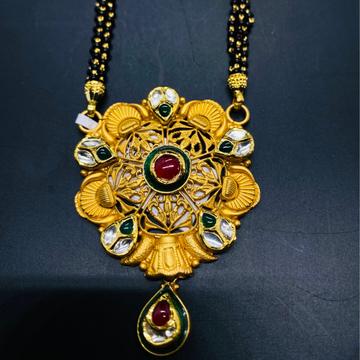 Antique Mangal Sutra by Devika Art Jewellery
