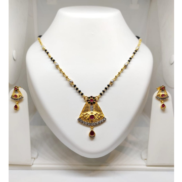 916 Gold Antique Mangalsutra JJ-M04 by