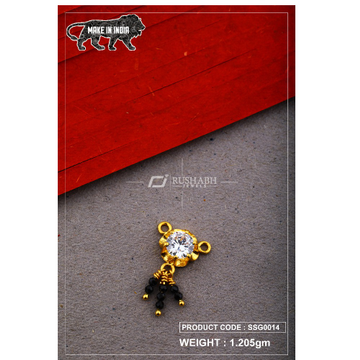22 Carat 916 Gold Ladies singal stone msp smg0014