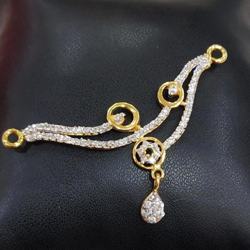 916 Gold 22kt Diamond Mangalsutra Pendal RH-MSP29