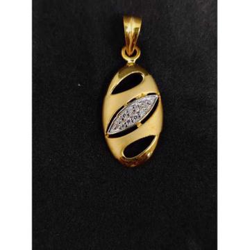 916 Men's Fancy Gold Pendant P-44525
