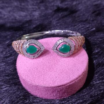 92.5 Sterling Silver Floral Ambrosia Bracelet For Women