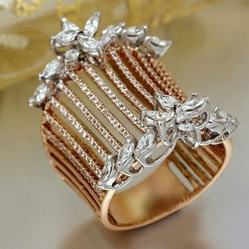 18K Rose Gold Special Occasion Rings