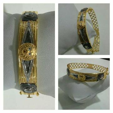 22k Fancy Lion Gold Bracelet G-3420