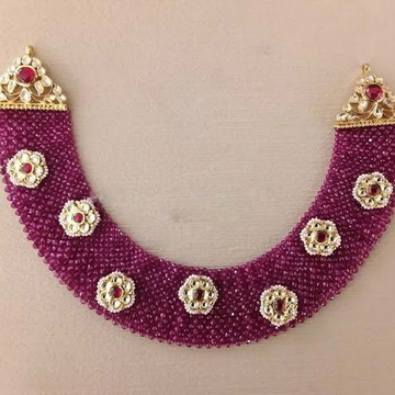 22KT/ 916 Gold antique occasions Rubies Net Neckla... by