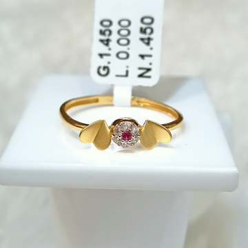 22 KT LOVE BIRD SHAPE RING by
