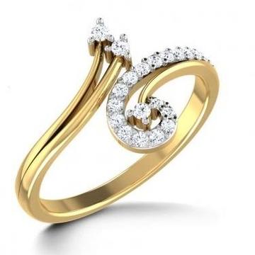 VAANI CZ DIAMOND RING LR0017