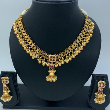 gorgeous bridal artificial necklace set  by