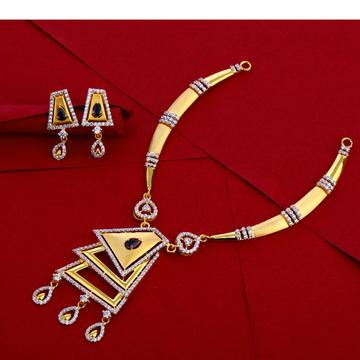 916 Gold ladies Necklace set LN255