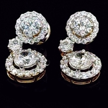Creative diamond eartops jsj0206