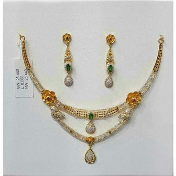 18KT Gold Princess Zarkan Necklace