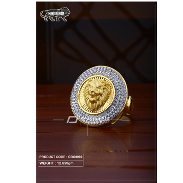 22 Carat 916 Gold Gants heavy ring grg0089