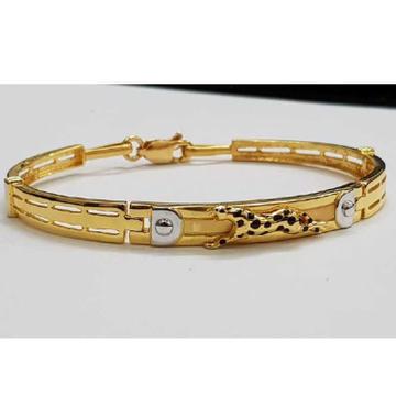 916 Gents Fancy Gold Jaguar Kada G-3428