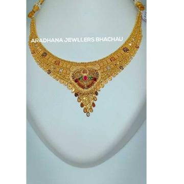 22KT Traditional Meenakari Necklace