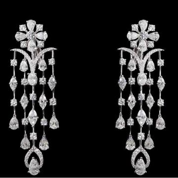 Diamonds Ear Hangings JSJ0022
