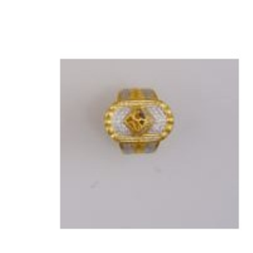 22K/916 Gold CZ attractive ring