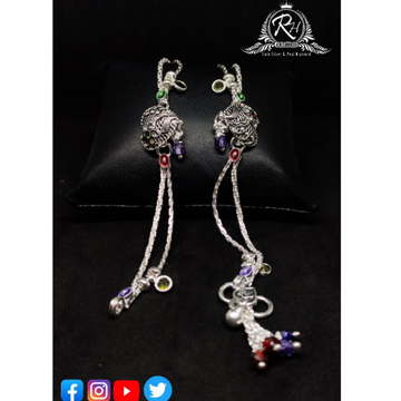 silver anklets payal RH-AP469