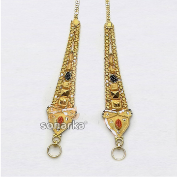 Gold Earchain SK - K020