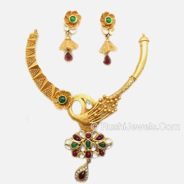 22kt Gold Fancy Necklace Set