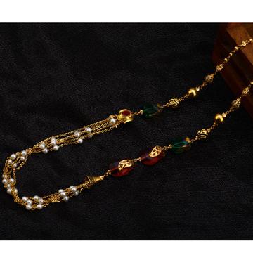 916 Gold Classic  Antique Chain Mala AC166