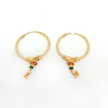 22KT Gold Designer Bali Earring ML-E020