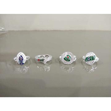 Micro Heart & Love Ring Ms-4008