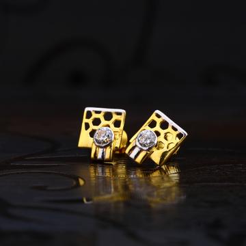 22kt Gold Solitare Earrings LSE199