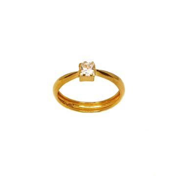 18K Gold Square Shaped Ring MGA - LRG1081